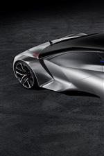 Preview iPhone wallpaper Peugeot Vision Gran Turismo, concept supercar