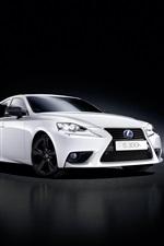 2015 Lexus IS white car