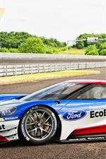 2016 Ford GT race car side view