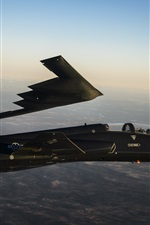Preview iPhone wallpaper B-2 Spirit bomber, T-38 Talon, supersonic airplane flight
