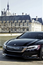 Citroen Numero 9 black concept car
