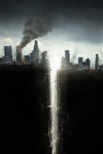 Preview iPhone wallpaper San Andreas, 2015 movie, catastrophe, crack