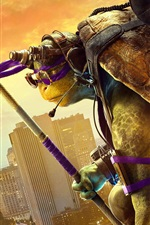 Preview iPhone wallpaper Teenage Mutant Ninja Turtles: Out of the Shadows