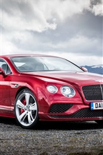 2015 Bentley Continental GT red supercar