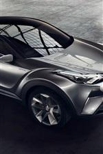 iPhone fondos de pantalla 2015 Toyota C-HR concepto híbrido Opinión superior del coche
