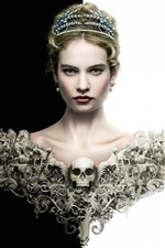 Preview iPhone wallpaper War and Peace, Lily James