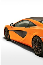 Preview iPhone wallpaper 2015 McLaren 570S Coupe, white background