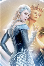 Preview iPhone wallpaper 2016 The Huntsman: Winter's War, Emily Blunt, Charlize Theron