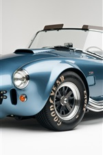 Preview iPhone wallpaper Ford Shelby Cobra 427 SC CSX 6000 supercar