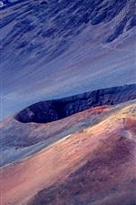 Preview iPhone wallpaper Haleakala, Maui, volcano, mountain, Hawaii