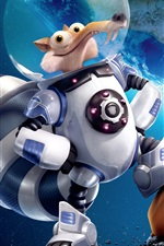 Preview iPhone wallpaper Ice Age 5: Collision Course