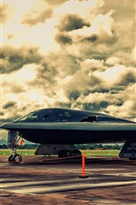 Preview iPhone wallpaper Northrop B-2A Spirit Stealth Bomber
