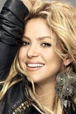 Preview iPhone wallpaper Shakira 08