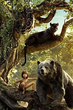 Preview iPhone wallpaper The Jungle Book, Disney movie 2016