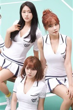 Preview iPhone wallpaper AOA, Korean music girls 02