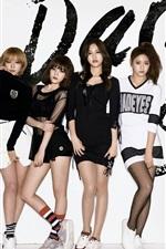 미리보기 iPhone 배경 화면 AOA, 한국 음악 소녀 04
