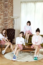 미리보기 iPhone 배경 화면 AOA, 한국 음악 소녀 05
