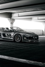 Preview iPhone wallpaper Audi R8 PPI Razor GTR convertible supercar