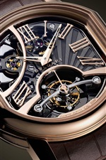 Preview iPhone wallpaper Bvlgari watch, precision structure