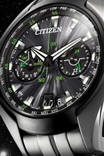 Citizen watch, metallic feel