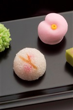 Preview iPhone wallpaper Desserts, gourmet, Japanese confectionery