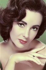 Preview iPhone wallpaper Elizabeth Taylor 01