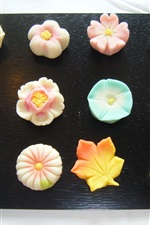 Preview iPhone wallpaper Food culture of Japan, Japanese confectionery