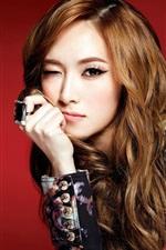 Girls Generation, Jessica, playful expression