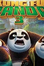 Preview iPhone wallpaper Kung Fu Panda 3, movie 2016