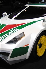 Preview iPhone wallpaper Lancia Stratos HF supercar
