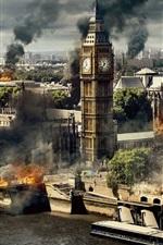 Preview iPhone wallpaper London Has Fallen, 2016 movie