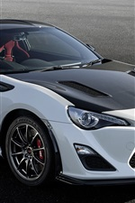 Preview iPhone wallpaper Toyota GT 86 GRMN 2016 supercar