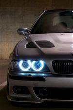 BMW E39 M5 azul angel eyes