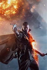 Preview iPhone wallpaper Battlefield 1, PC game 2016