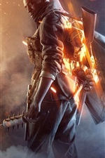 Preview iPhone wallpaper Battlefield 1, game HD