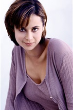 Preview iPhone wallpaper Catherine Bell 03