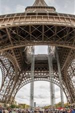 EURO 2016 viagem de futebol, Paris, Torre Eiffel, França