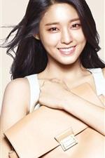 Preview iPhone wallpaper Korean girls, Seolhyun 02