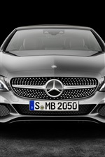 Preview iPhone wallpaper Mercedes-Benz C-Class Cabriolet AMG A205 front view