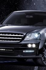 Mercedes-Benz M-class ML 63, Brabus black car