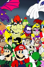 Preview iPhone wallpaper Nintendo games character tribute
