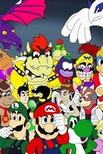 Nintendo tributo caráter jogos