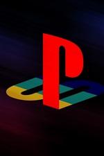 iPhone обои Playstation логотип