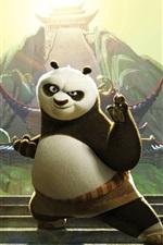 Preview iPhone wallpaper Po in Kung Fu Panda 3