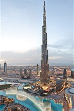 Preview iPhone wallpaper World's tallest building, Burj Khalifa, Dubai