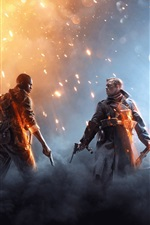 Preview iPhone wallpaper Xbox game 2016, Battlefield 1