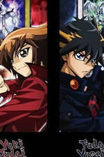 Preview iPhone wallpaper Yu-Gi-Oh, Japanese game