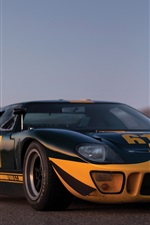 Preview iPhone wallpaper 1966 Ford GT40 supercar
