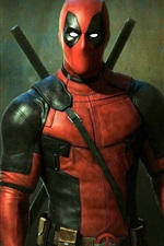 Preview iPhone wallpaper 2016 Deadpool movie HD