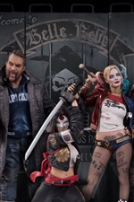 Preview iPhone wallpaper 2016 Suicide Squad